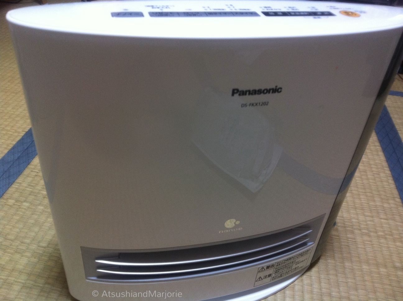 Panasonic Nanoe humidifier heater On Chocolate Hill #367595