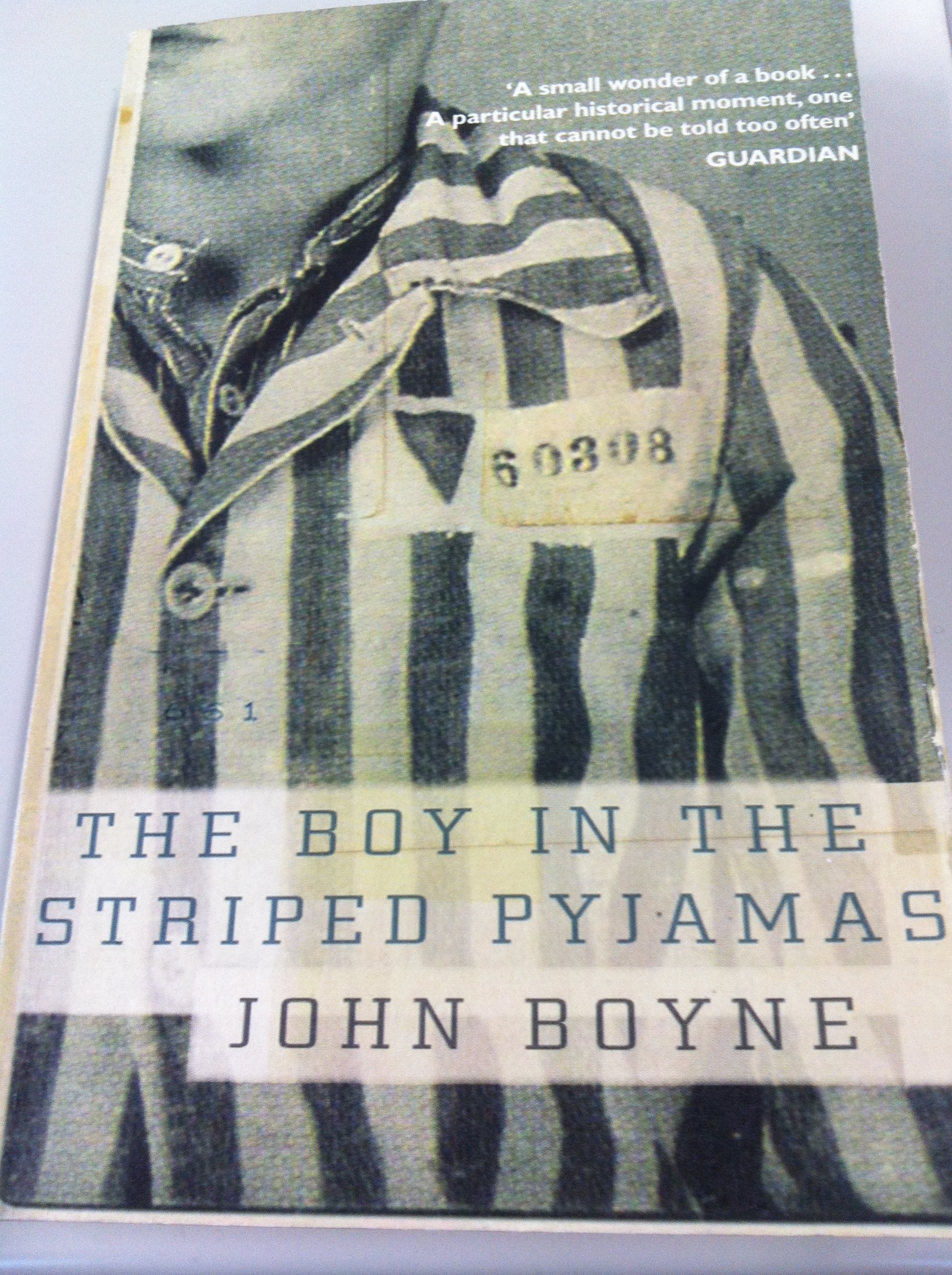 john boyne boy in the striped The paperback of the the boy in the striped pyjamas by john boyne, angus jackson   at barnes & noble free shipping on $25 or more.